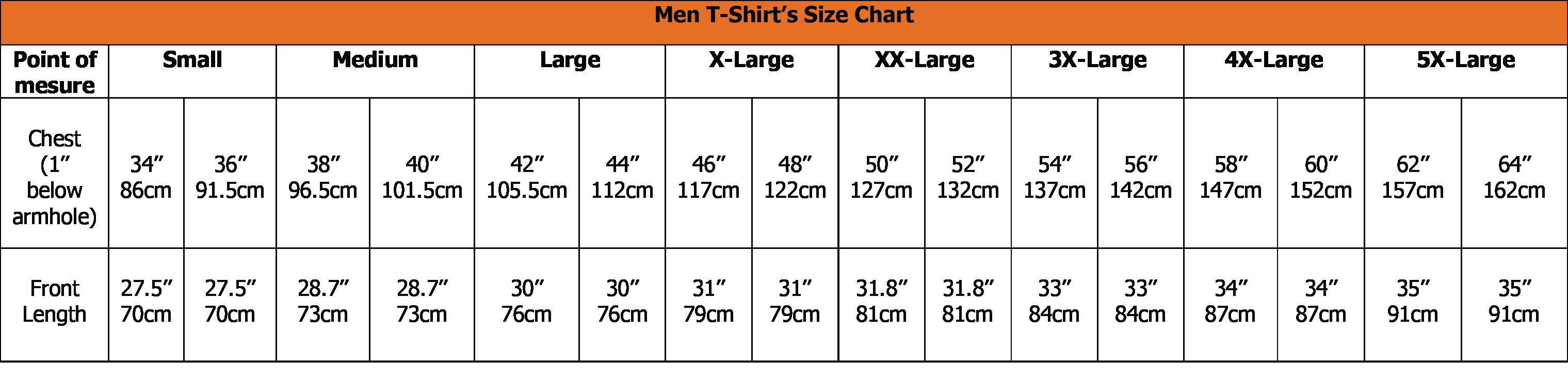 vietsbay women size chart