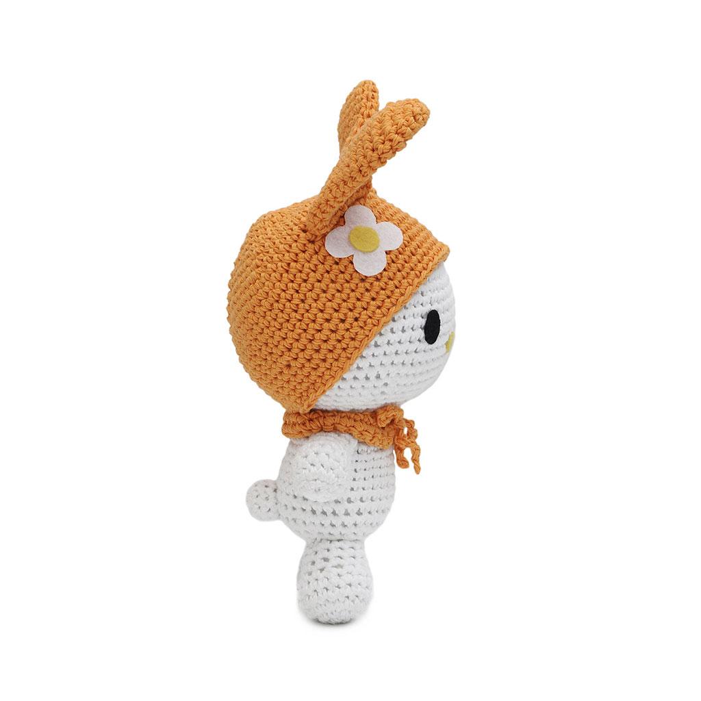 Bunnies Handmade Amigurumi Stuffed Toy Knit Crochet Doll ...