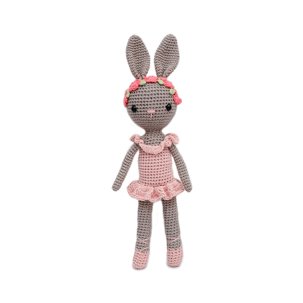 Amigurumi Ballerina Doll : Ballerina Bunny Charlotte Handmade Amigurumi Stuffed Toy ...