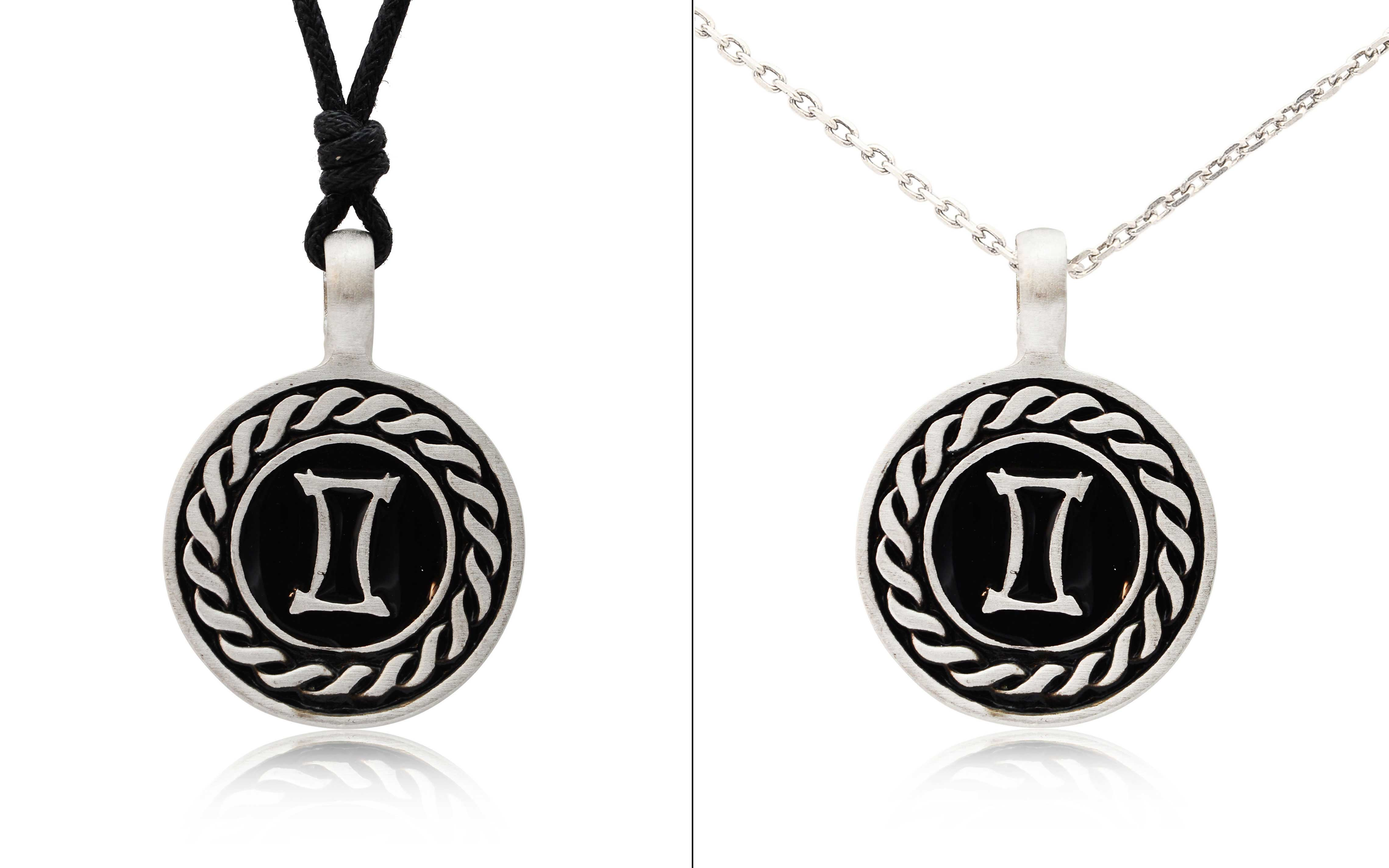 Astrology Sign Horoscope Silver Pewter Charm Necklace ... - photo#47