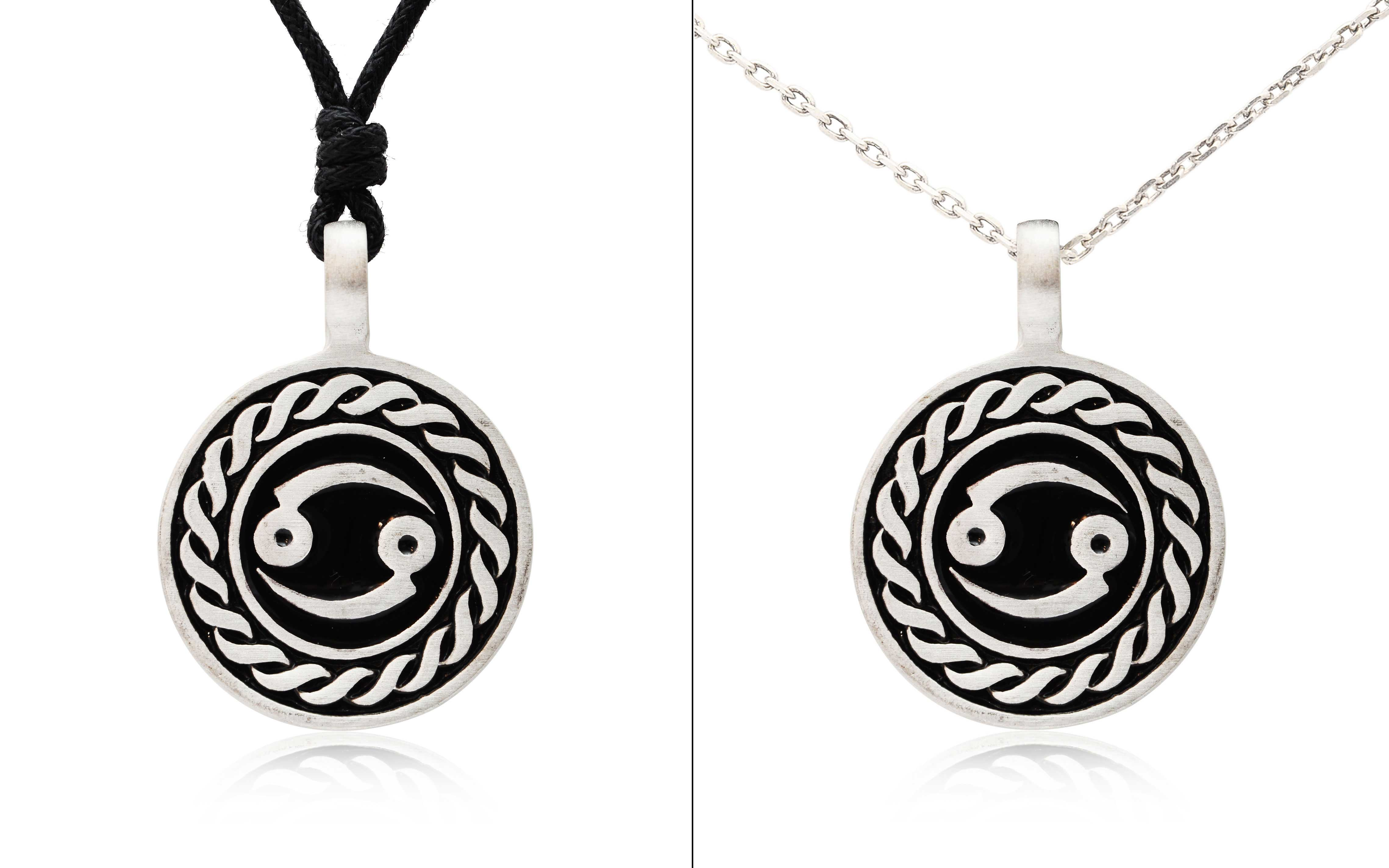 Astrology Sign Horoscope Silver Pewter Charm Necklace ... - photo#41