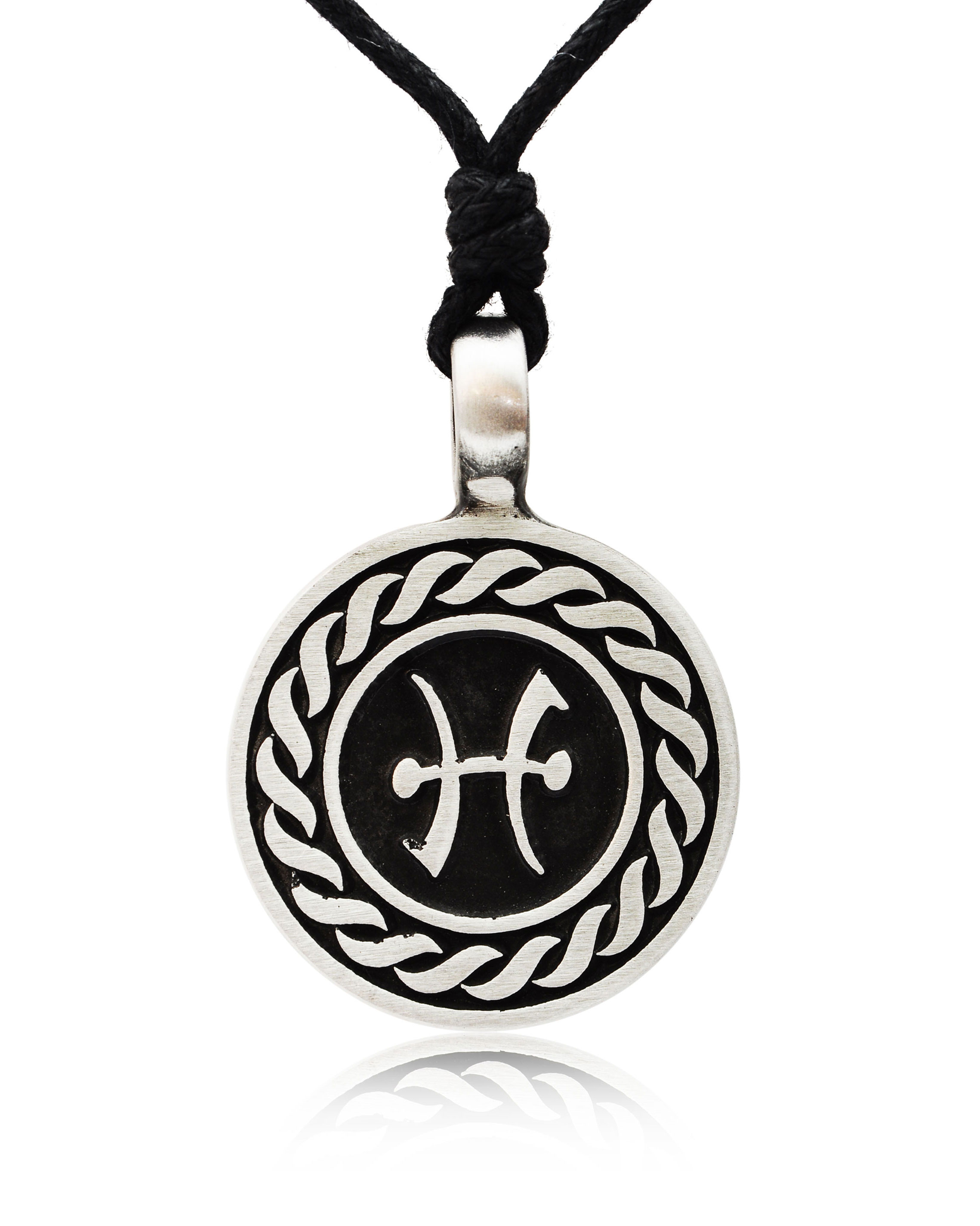 Astrology Sign Horoscope Silver Pewter Charm Necklace ... - photo#27
