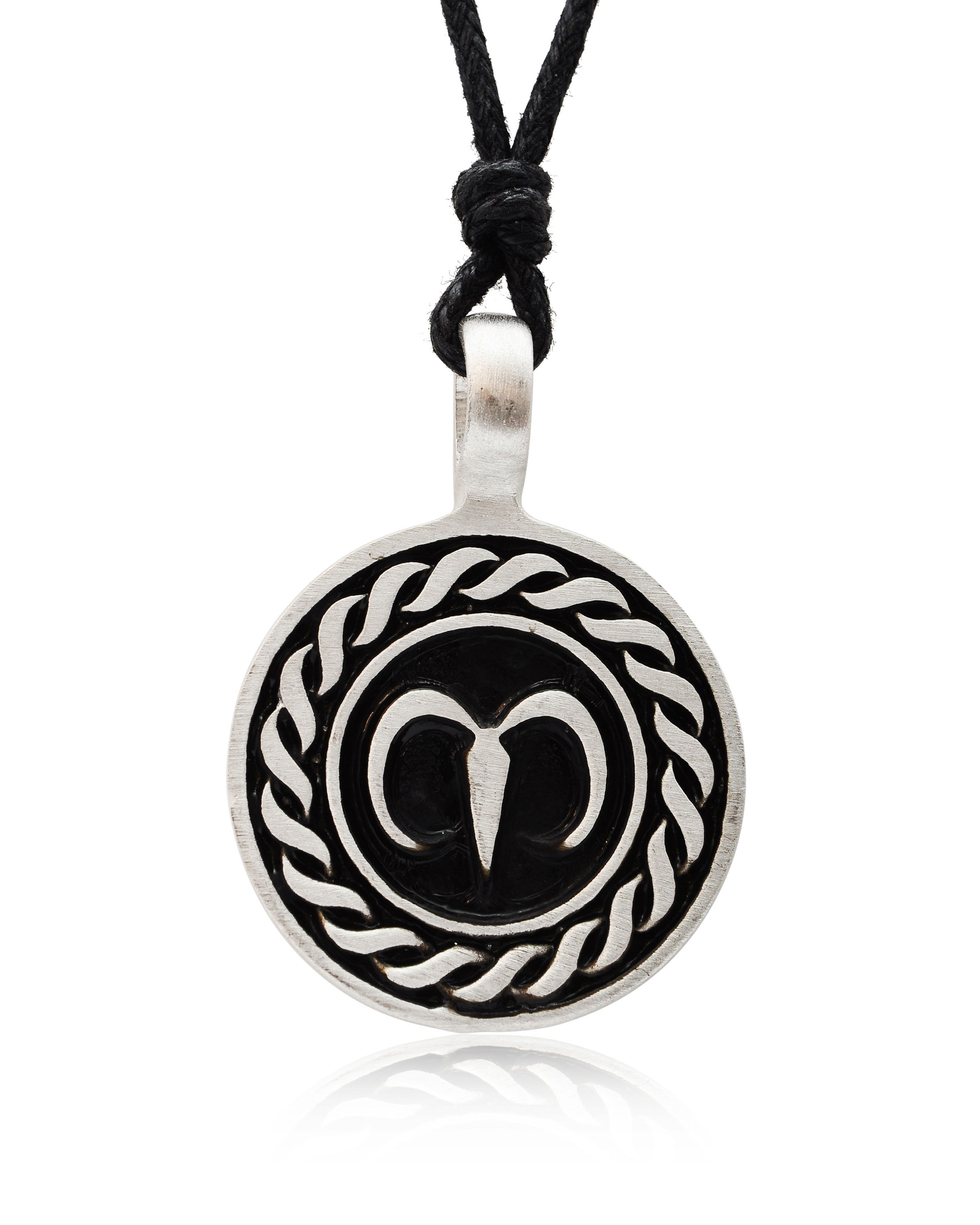 Astrology Sign Horoscope Silver Pewter Charm Necklace ... - photo#24